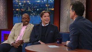 John Travolta & Courtney B. Vance Talk 'The People vs. O.J. Simpson'