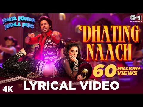 Dhating Naach Lyrics Video - Phata Poster Nikhla Hero - Shahid, Nargis Fakhri, Pritam video