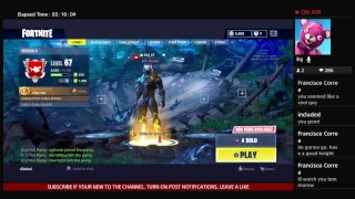 NEW FATE SKIN | Fortnite Battle Royale | LIVE GAMEPLAY | #EvoLRC