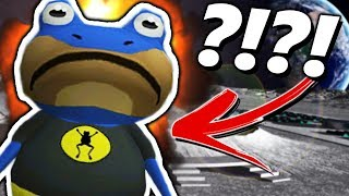 BATFROG'S HEAD EXPLODES IN SPACE?! | Amazing Frog ADVENTURES (Superhero Frog Goes to Space!)
