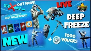 📺MenamesCho's LIVE 👉 DEEP FREEZE BUNDLE 👈 IN GAME REVIEW 🗣 FORTNITE BATTLE ROYALE - 13 11 2018