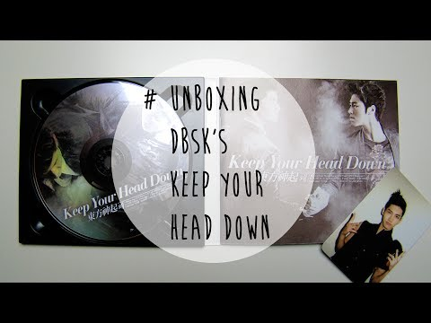 [unboxing] Dbsk Keep Your Head Down 5th Album Review video