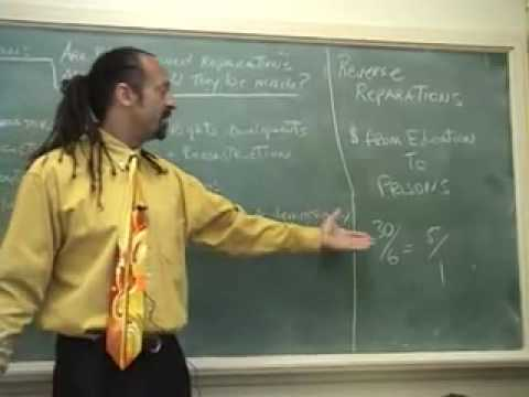 Ron Robinson Documentary on Reparations, Slavery & Segregation Part 1 of 2