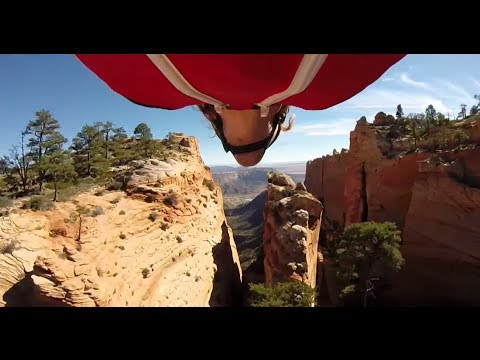 This Wingsuit Flyer Will Make You Pee Yourself | Scotty Bob Presents: New World Aviators, Ep. 1 klip izle