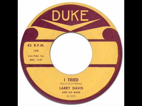 Rockin' Blues - Fenton Robinson(g) * I TRIED - Larry Davis [Duke #192] 1958