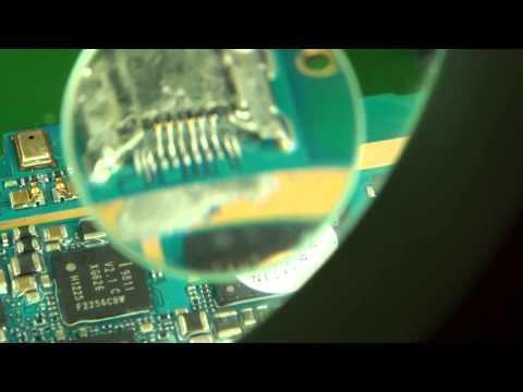 Samsung galaxy s3 saldare connettore di ricarica micro usb