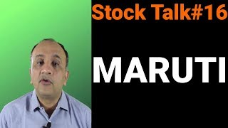 Maruti Technical Analysis - Stock Talk with Nitin Bhatia #16 (Hindi)