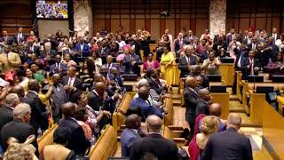 #SONA2018 ends in song