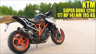 KTM SUPERDUKE 1290 R 2018 - Test Ride Akrapovic Raw Sound