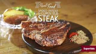 Smoked Paprika and Cumin Rub Steak