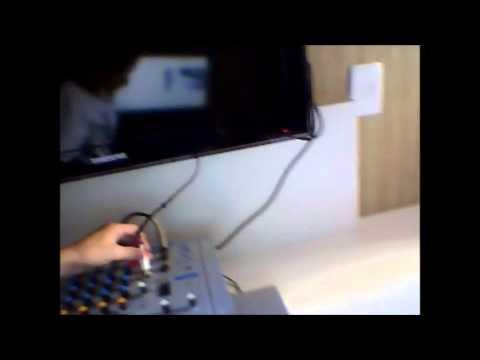 tutorial  como instalar uma mesa de som