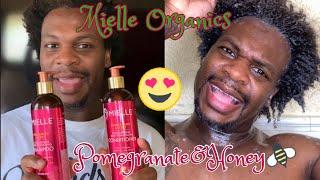 Mielle Organics| Pomegranate & Honey line| Short hair type 3/4 Wash Day