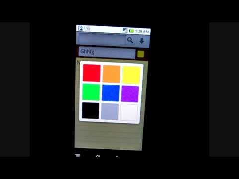 ColorNote (FREE NOTE ANDROID APP)