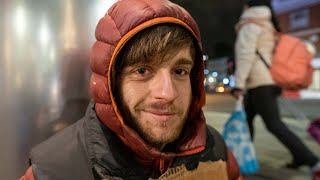 Video: Shaun, London, aged 19, homeless - Invisible People