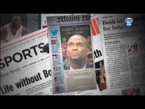 November 17, 2015 - FSS (1of2) - Inside the Heat: Chris Bosh (2015 Miami Heat Documentary)