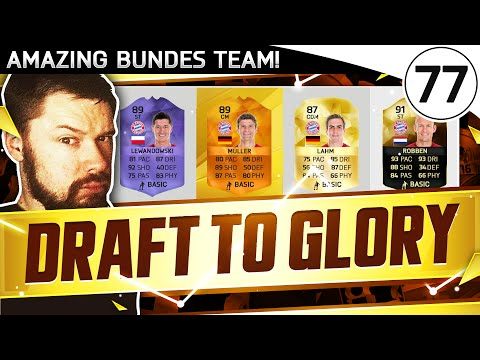 INSANE BUNDES TEAM!!! FUT DRAFT TO GLORY #77 - FIFA 16 Ultimate Team Gameplay