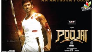 Poojai songs leaked out in Internet - Vishal is shocked   Hari, Shruthi Hassan