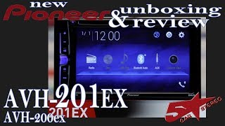Pioneer's new AVH-201EX / AVH-200EX unboxing and review