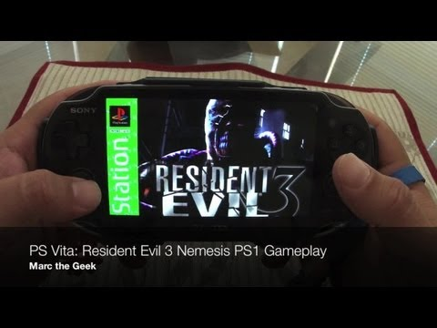 PS Vita - Resident Evil 3 Nemesis PS1 Gameplay