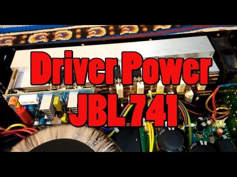 AMPLIFIER 1000 WATT JBL 741 GLEEERR #2 thumbnail