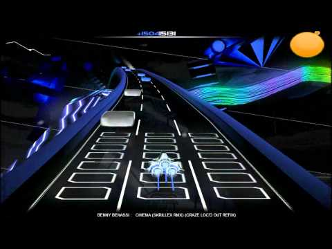 Benny Bennassi - Cinema {Skrillex Remix} {CRAZE Re-fix} [Audiosurf] (HD 720p)