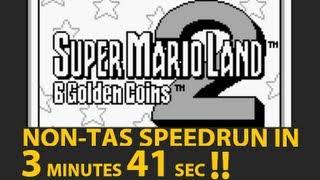 Super Mario Land 2 in 3:41 Speedrun (Former WR)