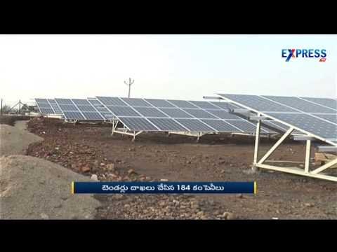 TS government accepts Tenders from 184 companies for solar energy production - Express TV