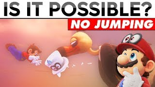 Saving Cappy From Klepto WITHOUT Jumping | Is It Possible?