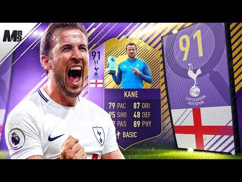 FIFA 18 91 POTM KANE REVIEW | 91 SPOTM KANE PLAYER REVIEW | FIFA 18 ULTIMATE TEAM