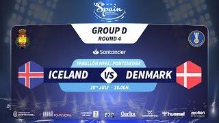 #Handtastic | PR - Group D | Iceland : Denmark