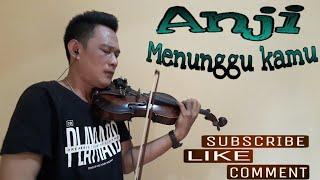 Anji - Menunggu kamu - violin cover by robin zebua - (Live) 👇 Lirik