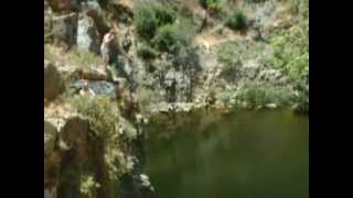 Cliff Jumping Box Canyon in 2004!
