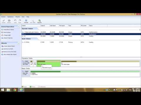Converter disco Dinâmico em Básico Sem perder dados - Windows 7/8/8.1 - TutoLeigo 2014