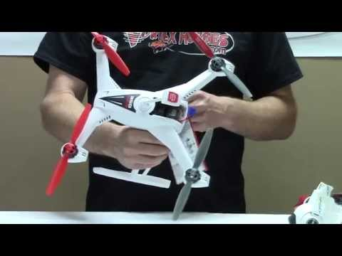 Blade 350 QX3 AP Combo Box Opening and Flight Video - Vortex Hobbies