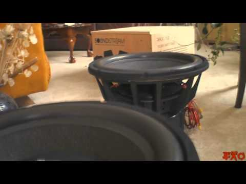 Un-boxing Soundstream Xxx Sub *crazy Huge* Exo's Biggest Baddest & Loudest Spl Subwoofer Ever video