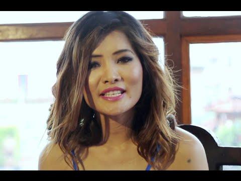Nepal's model star 2016 with Jenisha KC