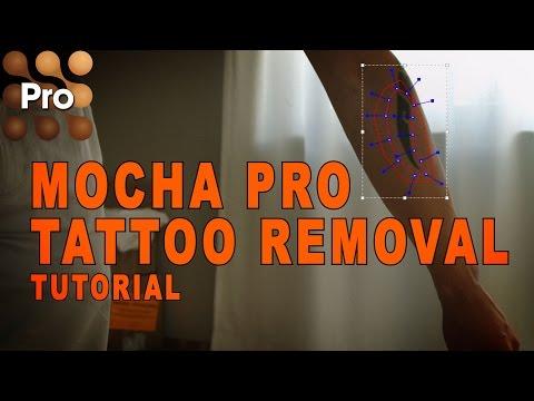 Mocha Pro Tutorial - Tattoo Removal