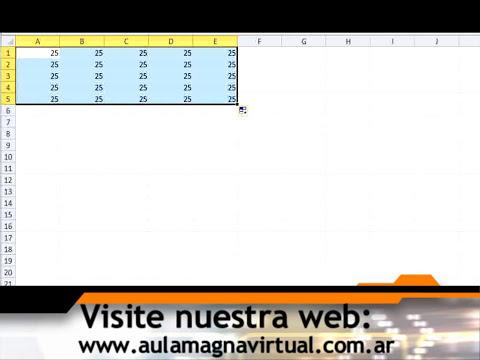 Curso Gratuito de Microsoft Excel 2010 Nivel Básico - Módulo 04 - Parte 01.