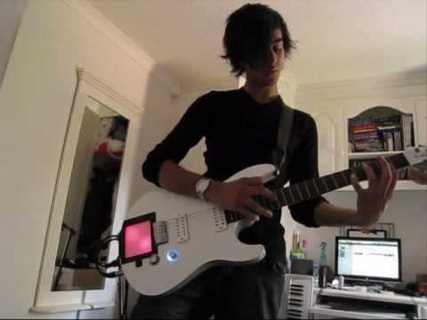 Muse Invincible solo cover with Kaoss Pad mod
