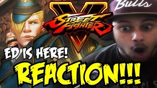 HE... HE DID A DEMPSEY ROLL?! SFV: Ed Reveal Trailer REACTION AND THOUGHTS!!!