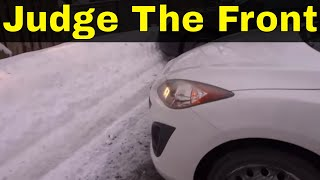 How To Judge The Front Of Your Car-Beginner Driving Lesson