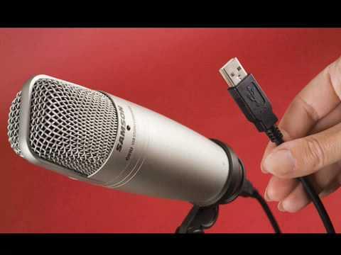 Samson C01U USB Studio Condenser Microphone Review/Demo