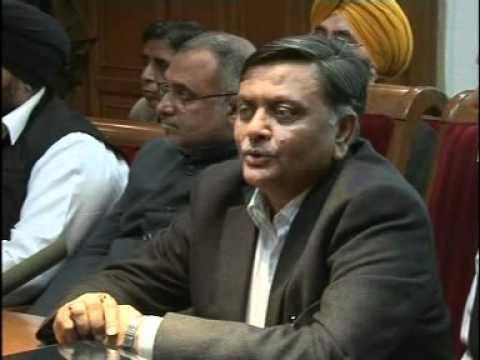 MANORANJAN KALIA=Vijay Sampla, Chairman Punjab Khadi & v. i. Board