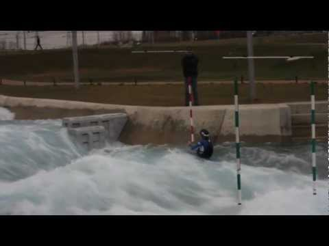 David Bain - David Bain Lee Valley Olympic White Water Course 2012