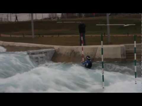 David Bain - David Bain Lee Valley Olympic White Water Course 2012