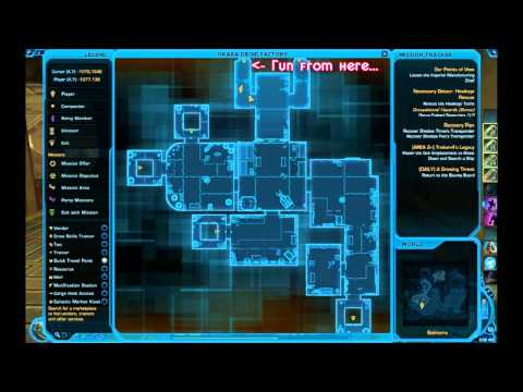 SWTOR - Datacron Location Guide - Balmorra (Republic)