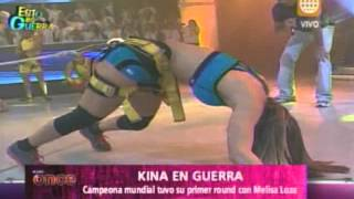A Las Once -esto Es Guerra: Kina Vence A Melissa Loza- 14/05/13