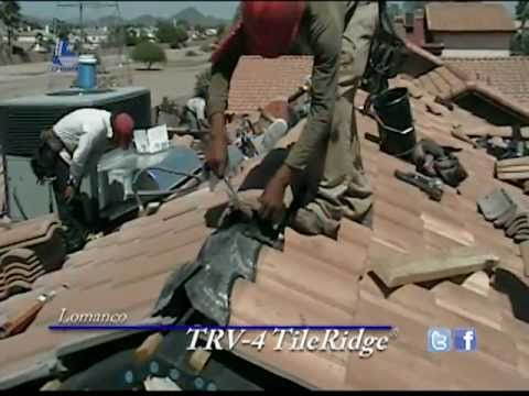 Lomanco Trv 4 Tileridge Tile Roof Ridge Vent