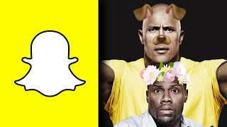 "Dwayne ""The Rock"" Johnson and Kevin Hart Visit Snapchat HQ!"