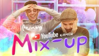YOUTUBE NAMEN MIX-UP CHALLENGE!